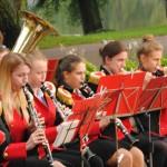 Orkiestry Dęte zaprezentowały się na Rynku Miejskim w Więcborku w Bitwie wcale nie takiej naDętej