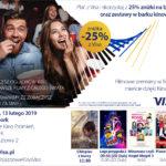 Kino Visa zaprasza na Walentynki Kinowe- 13 lutego 2019r.